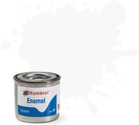 Humbrol AA0240 14ml No. 1 Tinlet Enamel Paint 22 White Gloss