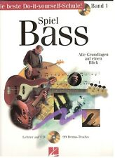 HAL LEONARD SPIEL BASS - BAND 1 MUSIC BOOK/CD-BRAND NEW ON SALE-EXTREMELY RARE