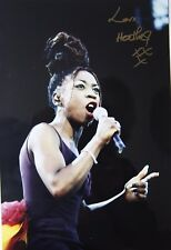 HEATHER SMALL OF M PEOPLE original signed photo 11.9 x 8 inches by Mel Longhurst