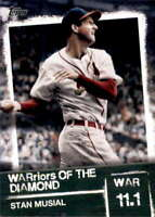 2020 Topps WARriors of the Diamond #WOD-11 STAN MUSIAL  Cardinals