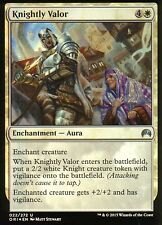 Knightly Valor FOIL | NM | Magic Origins | Magic MTG
