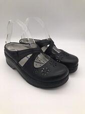 Klogs Footwear Women's Size 8W Wide Carolina Black Leather 201910