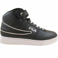 Fila Men's Vulc 13 Mid Plus MP Double Layer Flag Black White Fashion Retro Shoes