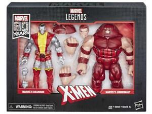 Marvel Legends 80th Anniversary: Colossus vs Juggernaut X-Men Action Figures