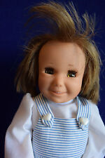 "14"" SCHILDKROT PUPPEN VINYL GERMAN SMILING DOLL!"