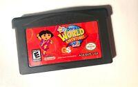 Nick Jr. Dora's World Adventure! Dora The Explorer GBA NINTENDO GAMEBOY ADVANCE