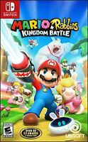 Mario + Rabbids Kingdom Battle Nintendo Switch Standard Edition Region Free New