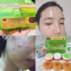 ❤️ Dr. Yanhee Whitening Cream Set.Seaweed +Glutathione Result In 14 Days.🇹🇭
