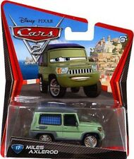 Disney Cars Cars 2 Main Series Miles Axlerod Diecast Car