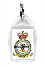 ROYAL AIR FORCE CENTRAL BAND KEY RING (ACRYLIC)