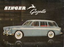 Singer Gazelle Series IIIA Estate 1959-60 UK Market Leaflet Sales Brochure