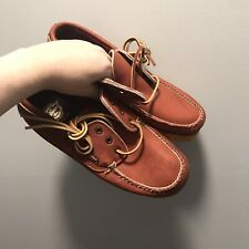 Made In The Usa The Worthmore Genuine Handsewn Boat Shoes - 8.5