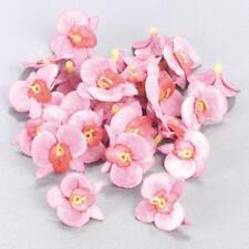 Knorr Prandell Plastic Flower Heads - Pink Orchid Rose #170