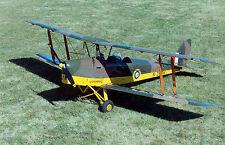 1/7 Scale de Havilland DH.82a Tiger Moth Plans,Templates, Instructions