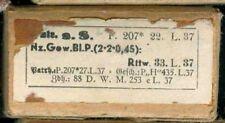 WWII:Patronenschachtel:8 x 57 s.S.P 207 22.L.37