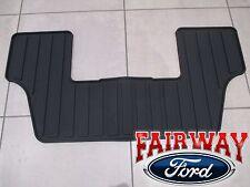 2009 thru 2018 Flex OEM Ford Black Rubber All Weather Floor Mat 3rd Row Seat