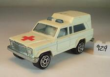 Majorette 1/64 Nr. 269 Jeep Wagoneer Ambulance Krankenwagen Nr.3 #929