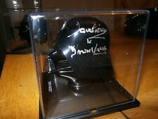 Darth Vader Helmet Hand signed Dave Prowse Star wars complete case COA UACC