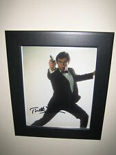 Timothy Dalton {James Bond} Lovely Signed Photograph Reproduction Print (10x8)
