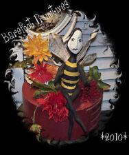 Primitive Bernice Bumblebee bug critter Paper Pattern