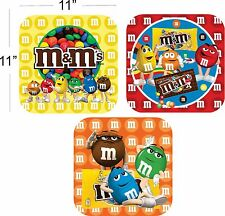 m & m  happy birthday party decoration supplies cutout