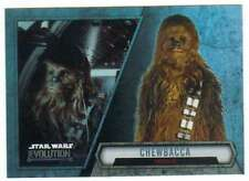 2016 Topps Star Wars Evolution Trading Card #56 Chewbacca Smuggler