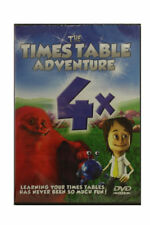 Times Table Adventure DVD - 4 Times Tables - Learn your Times Tables a Fun Way!