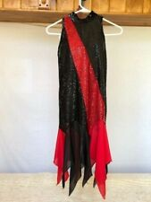 "Red & Black Adult Character ""Charleston"" Dance Costume"
