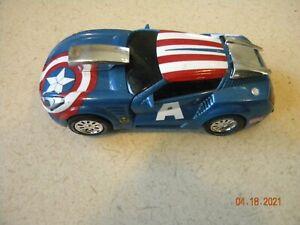 2012 Carrera Go Slot Car Marvel captain america
