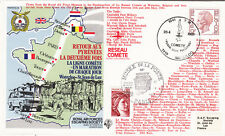 (20145) Belgium / France Cover RAEFS SC30 RAF Escaping Society 1981
