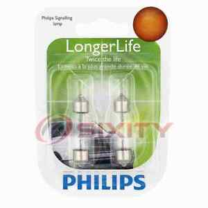 Philips License Plate Light Bulb for Saab 9-3 9-3X 9-5 900 9000 99 1980-2011 ty