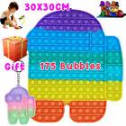 30cm ADHD Stress Relief Jumbo Popit Sensory Fidget Bubble Toy Game Autism Kids