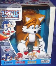 "Sonic the Hedgehog 9"" Adventure Talking Tails figure w Stand New Factory Sealed"