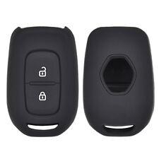 2 Button Silicone Car Key Cover Case For Renault Dacia kwid Sandero Trafic