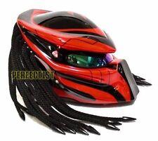Predator Motorcycle Helmets DOT Custom Airbrush Paint Bike ATV S M L XL XXL T02