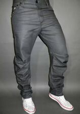 G-Star Jeans Arc Loose Tapered Aplastado Gris Formato Vaquero W29 L32 Algodón