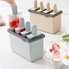 Cocina de casa & Congelada Popsicle Mold Ice Cream Maker Bandeja de Silicona Molde de helado