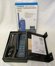 Omega Humidity Temperature Meter Data Logger HH311 mint in box