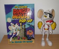 Danger Mouse Jazwares Talking Action Figure + Pop Up Book