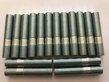 16 x M12X1.25 LEGA RUOTA BORCHIE Conversione Bulloni Lunghi 60mm si adatta ALFA ROMEO 58.1