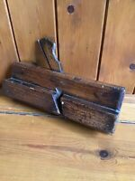 Antique Vintage Carpenters Wooden Wood Moulding Plane - Lovely Patina