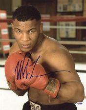 MIKE TYSON SIGNED AUTOGRAPHED 11x14 PHOTO LEGENDARY BOXING CHAMPION PSA/DNA