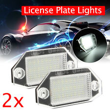 2pcs 24LED White Number License Plate Lights Lamp For Ford Mondeo MK3 2000-2007