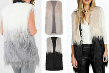 Faux Fur Machine Washable Coats & Jackets for Women