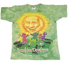 Grateful Dead Sunshine Daydream Dancing Bears Vtg 90s 95 Tie Dye T Shirt Mens L