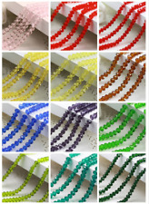 Wholesale 20pcs 12mm crystal Oblate Pearl Spacer Loose Beads Jewelry Making