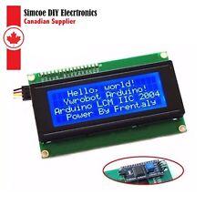 IIC/I2C LCD2004 LCD - Blue Screen Serial Module Display For Arduino #201
