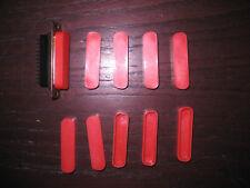 10 Stück  D-SUB Staubschutzkappe 25 polig Buchsenstecker  Neuware