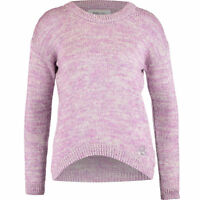 SUPERDRY Women's  Lavender & Grey Knitted Jumper XS, S, L, XL