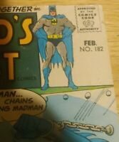 World's Finest Comics #182 1968. DC comics